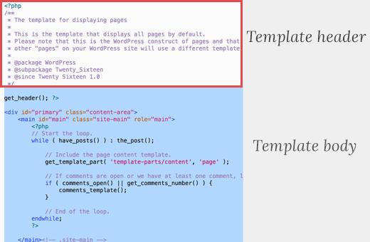ساخت صفحات custom page در وردپرس