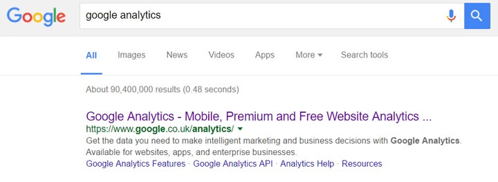 گوگل آنالتیک