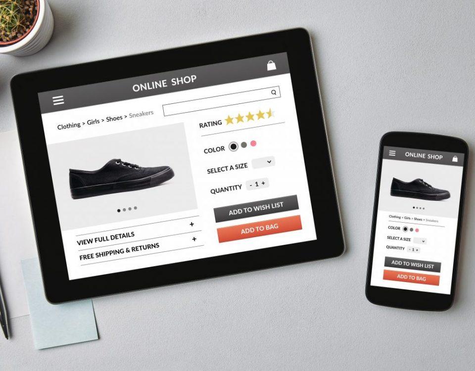 طراحی صفحه محصول